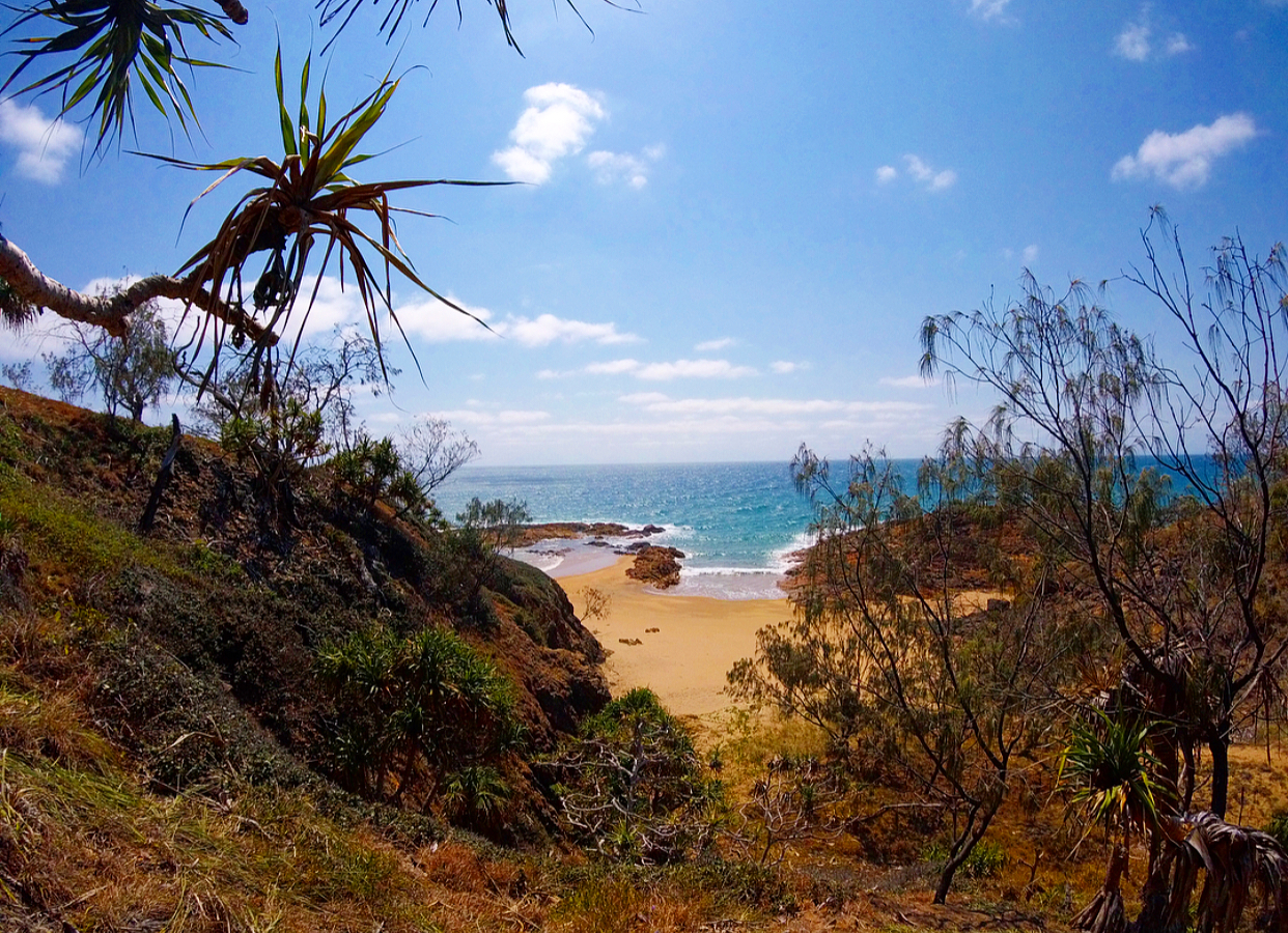 The view from one of the nature trails we hiked from our camp site.