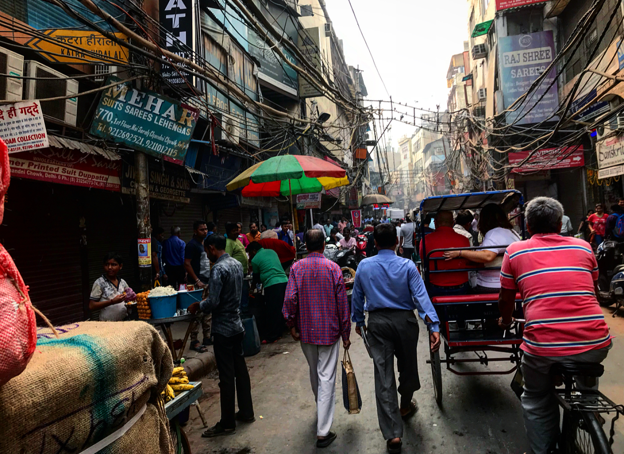Old Delhi, India.