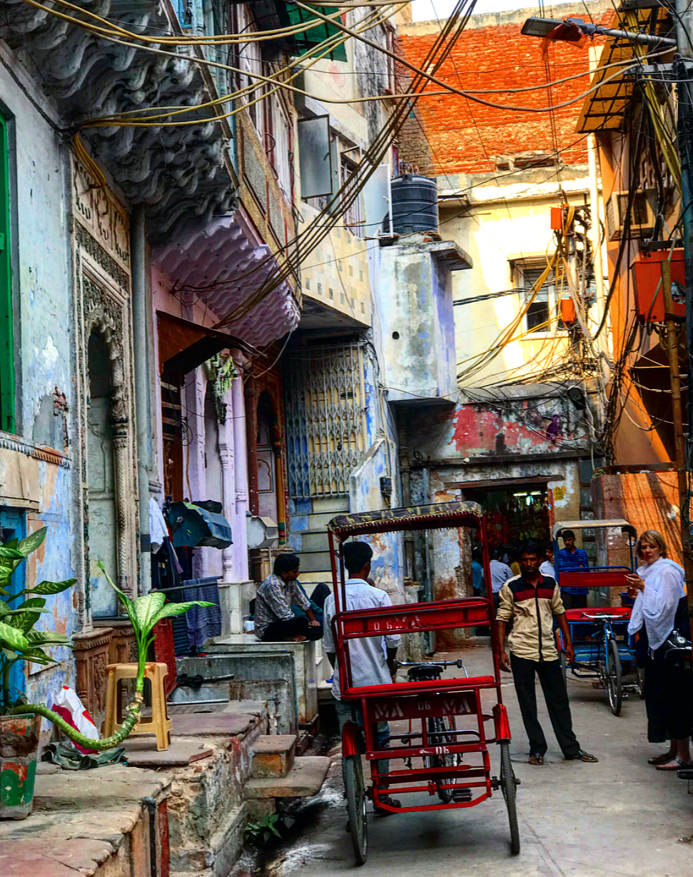 So much beauty in so much chaos, Old Delhi.