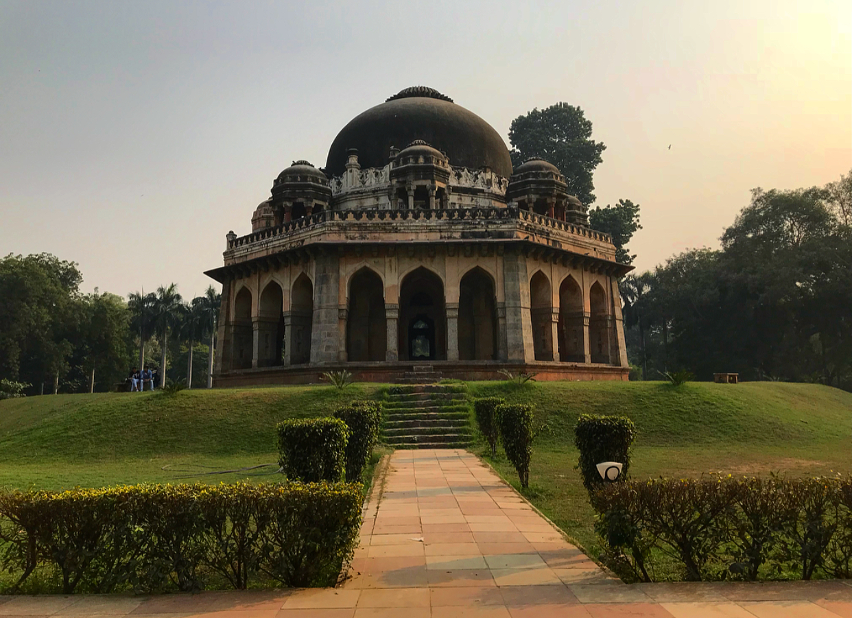 A temple in Lodhi Gardens.