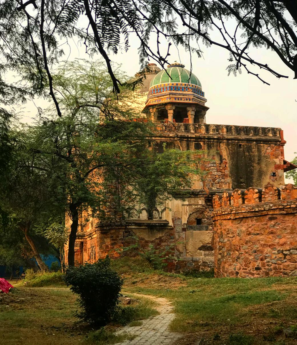 Humayun's tomb, New Delhi.