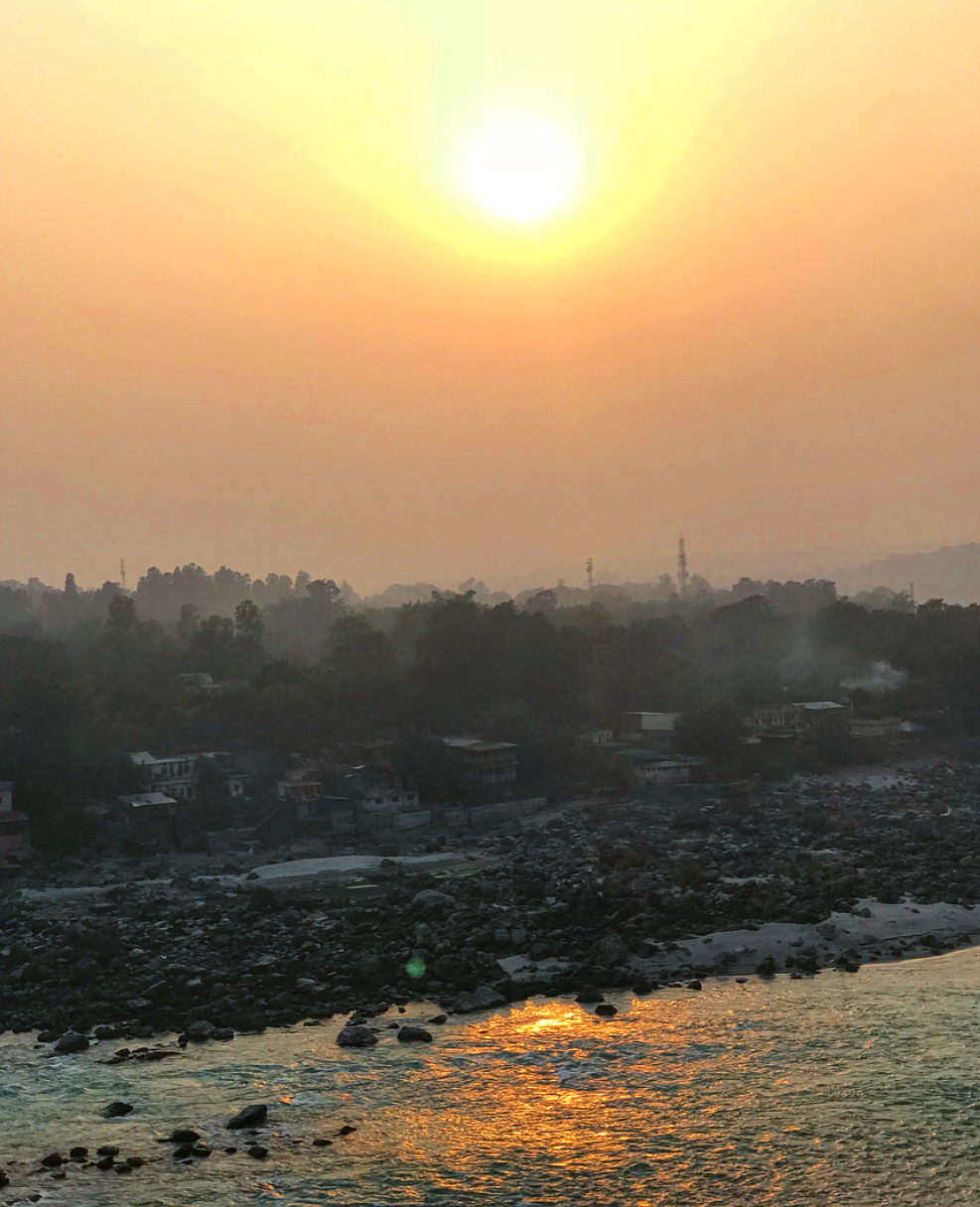 Sunsets over The Ganges