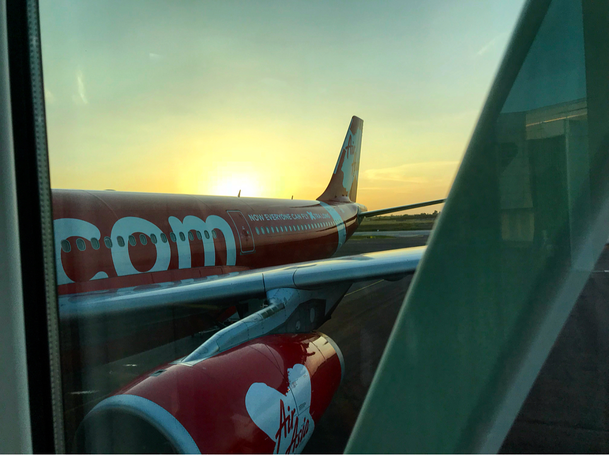 Three flights until I get back to sunny Auz!