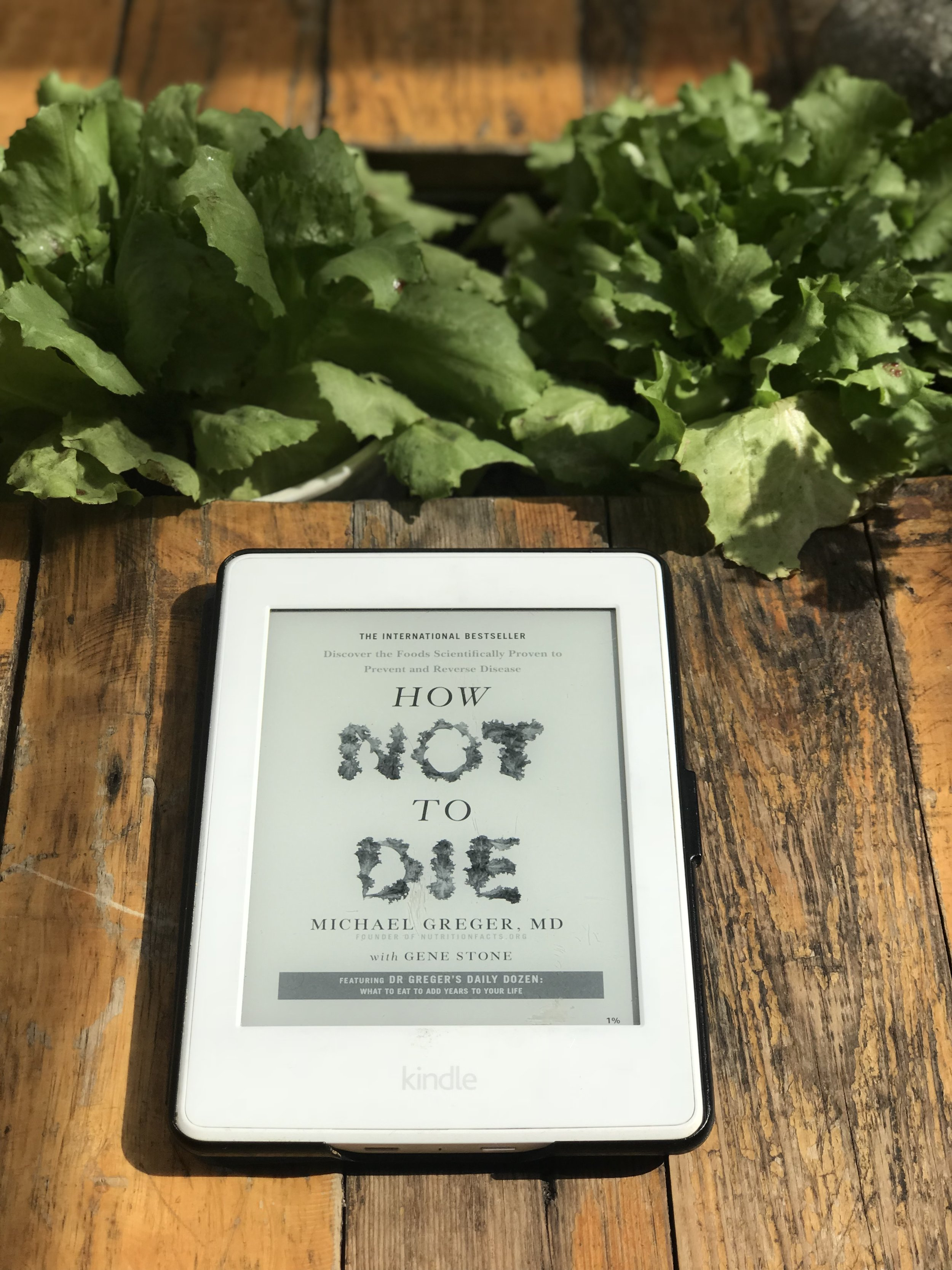 'How Not To Die' a mind blowing book compiled with the latest research on plant based diets.