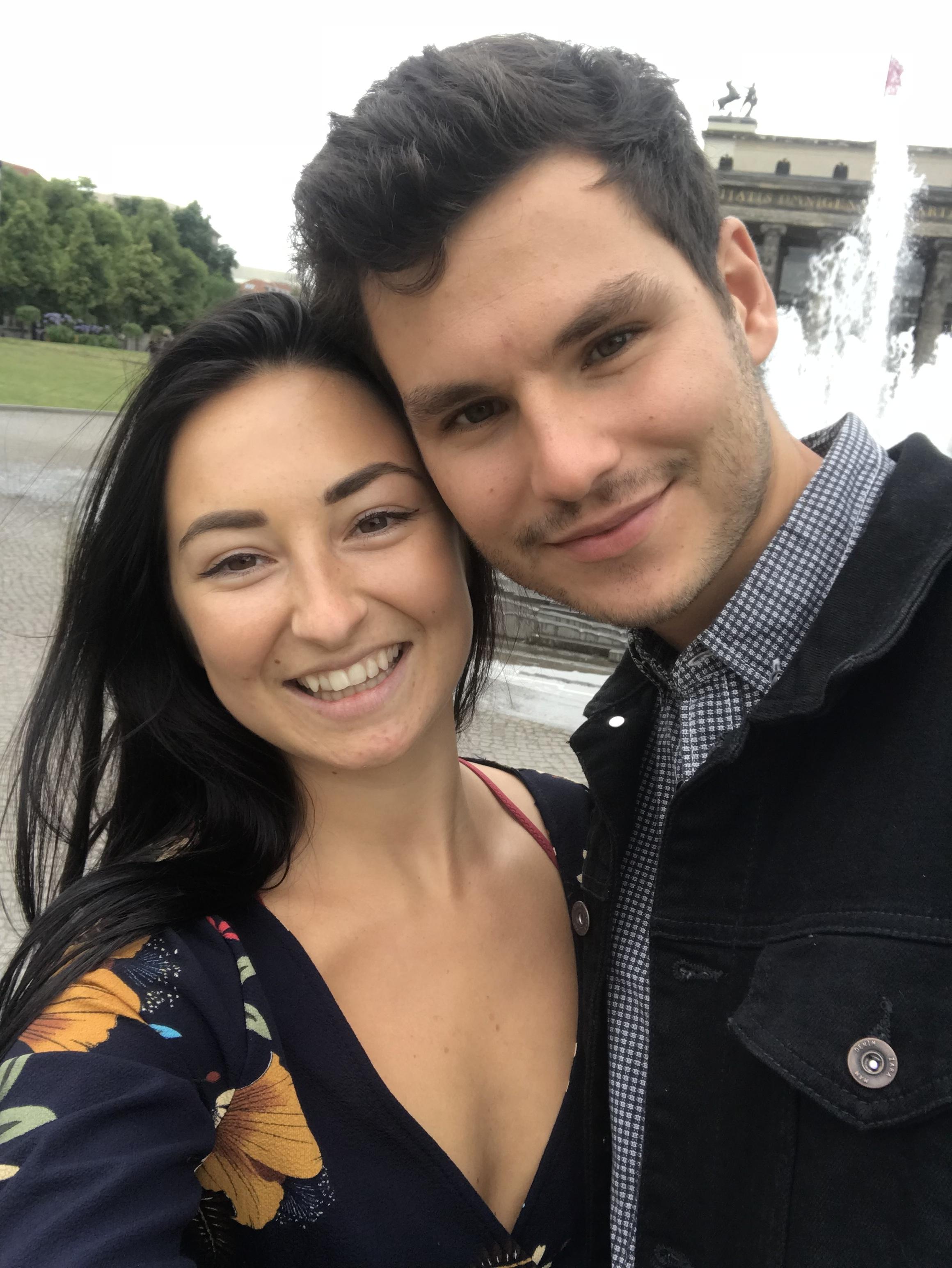 My wonderful boyfriend and I in Berlin.