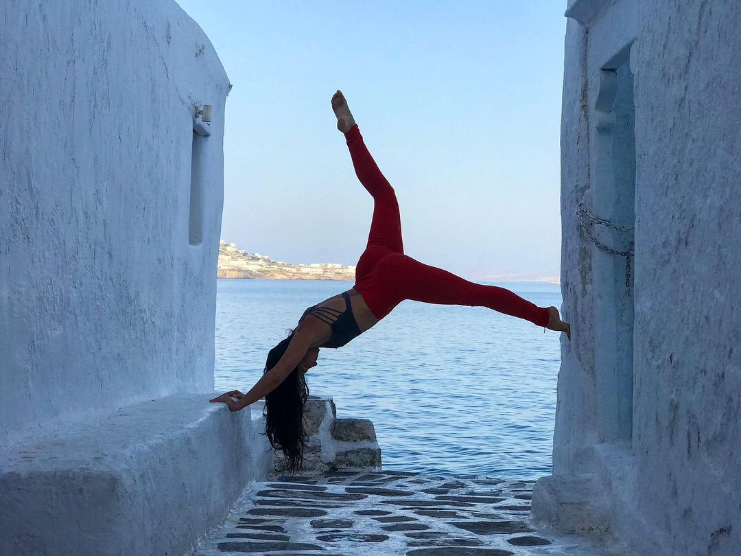 Teaching yoga in Mykonos already feels like a life time away!