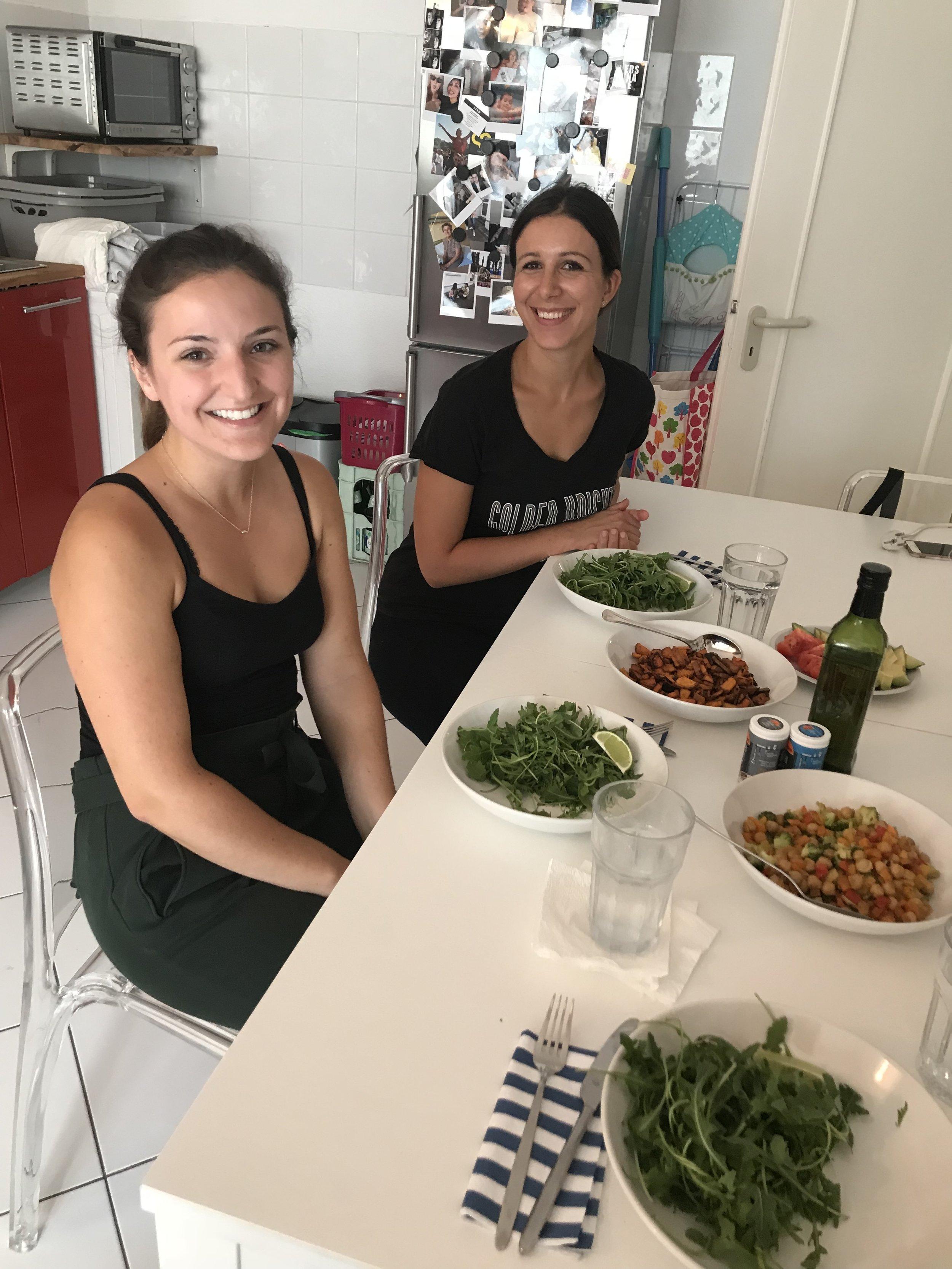 Lovely dinner dates with Caitlin & Dilan!