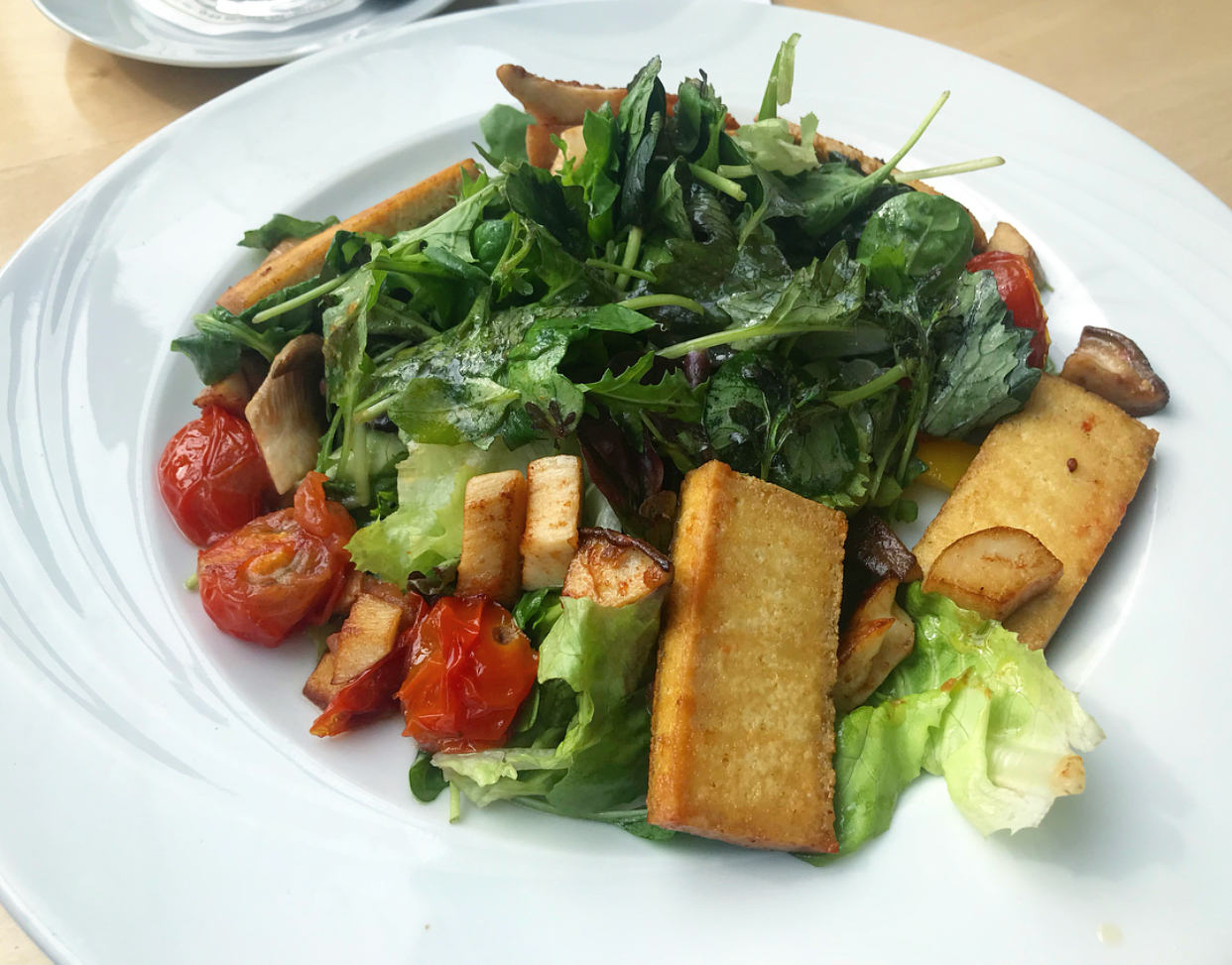 The tofu salad that became my lunch 3 days in a row haha.