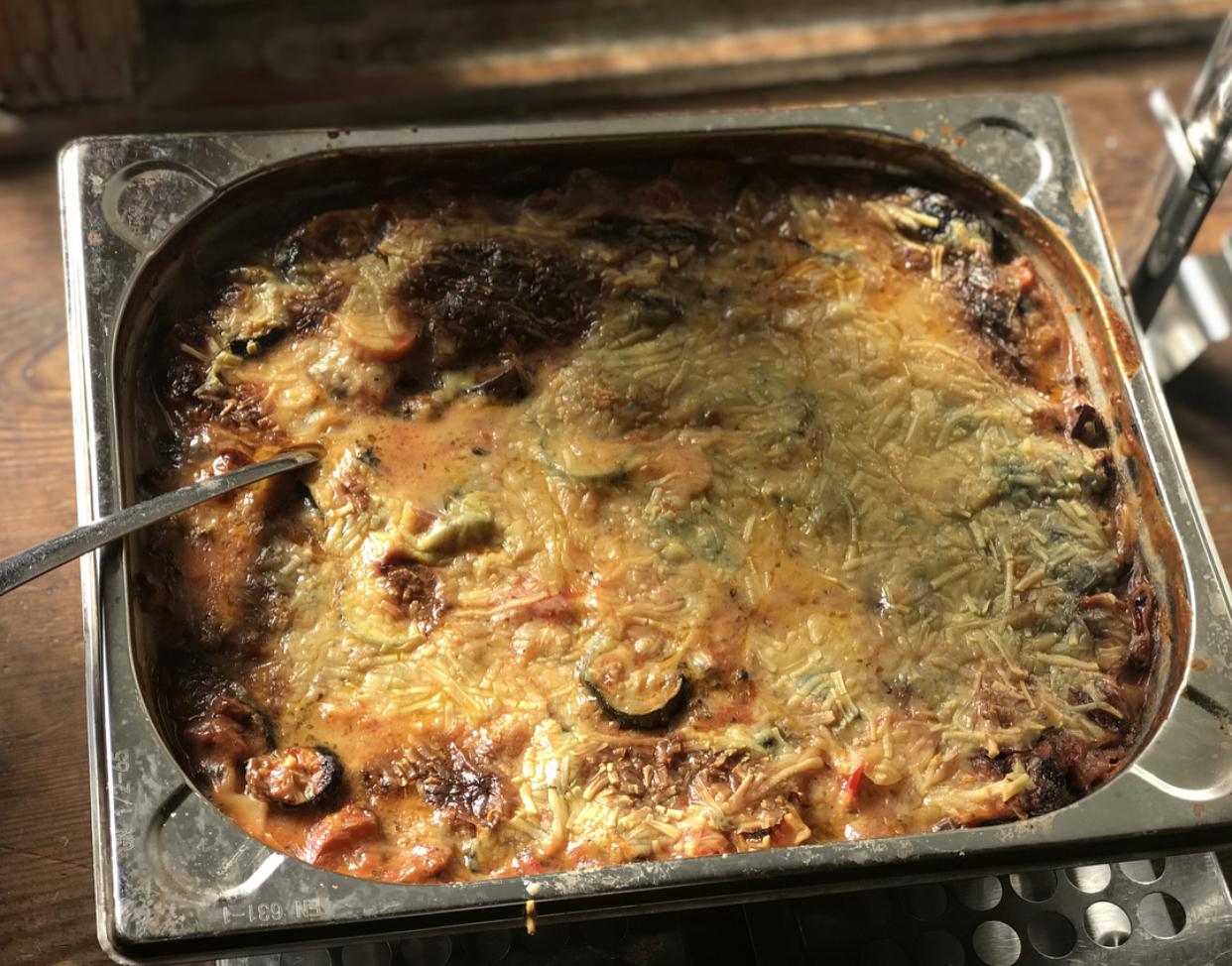 A dreamy creamy lasagna from Freundliches.