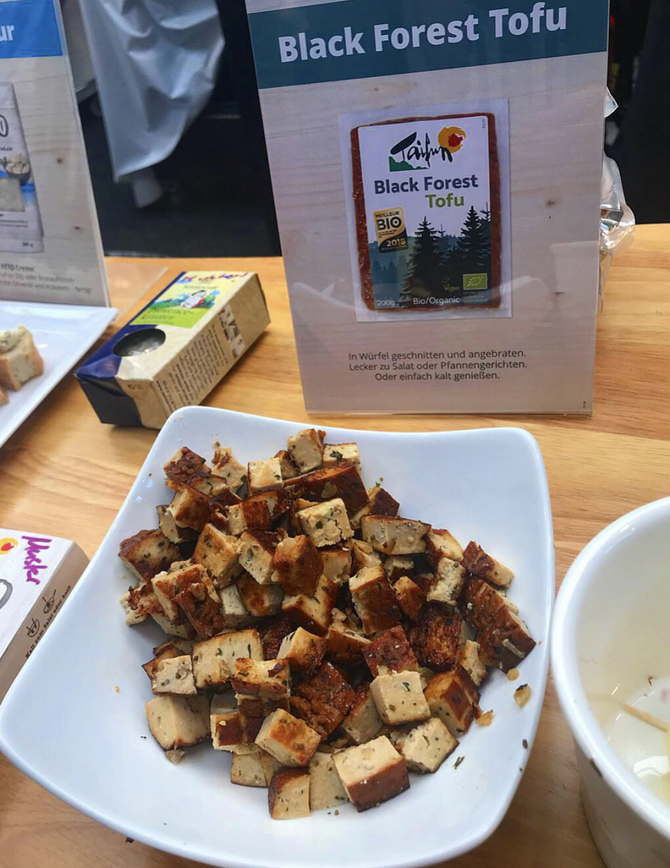 This most amazing tofu they kept serving up as free samples.