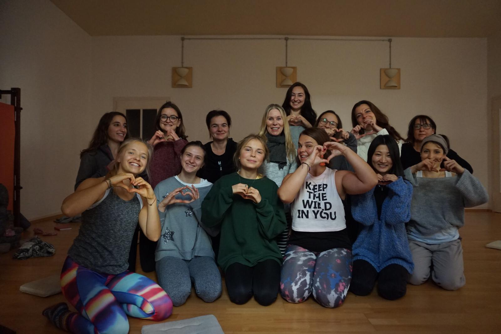 The group of amazing women who came along to our Women's Wellness Workshop.