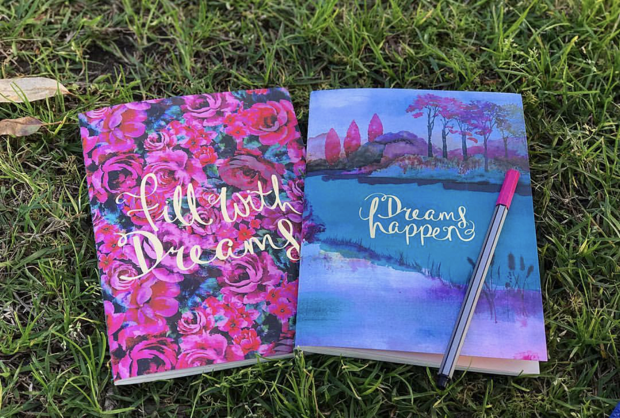 Be sure to have a journal and pen to write in (the more special your journal feels to you, the more consistently you will continue to write).