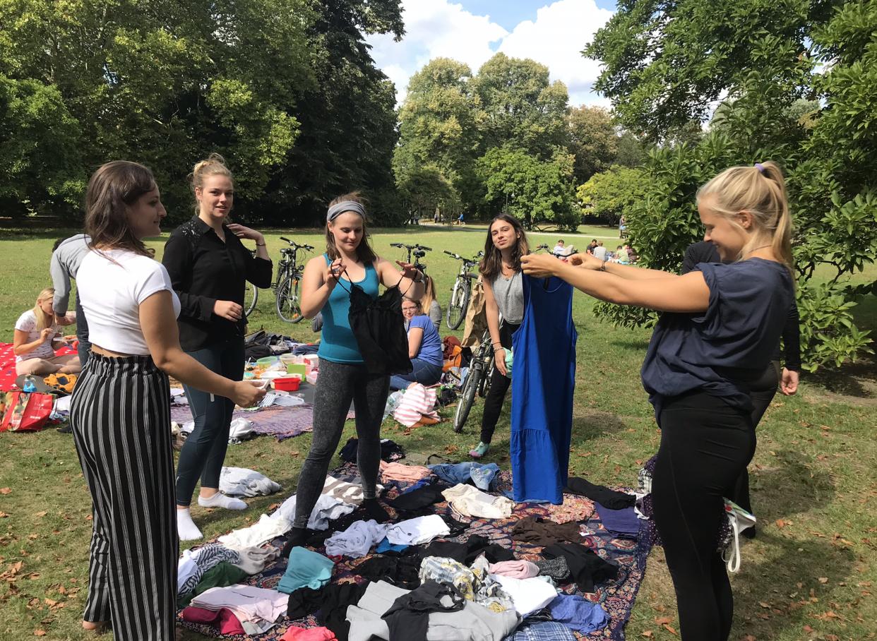 Vegan picnic & clothes swap.
