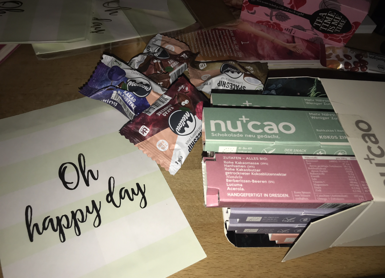 Our workshop sponsors NuCao & Tofu Kind.