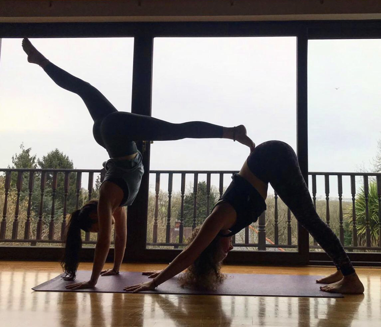Getting our Acro on!