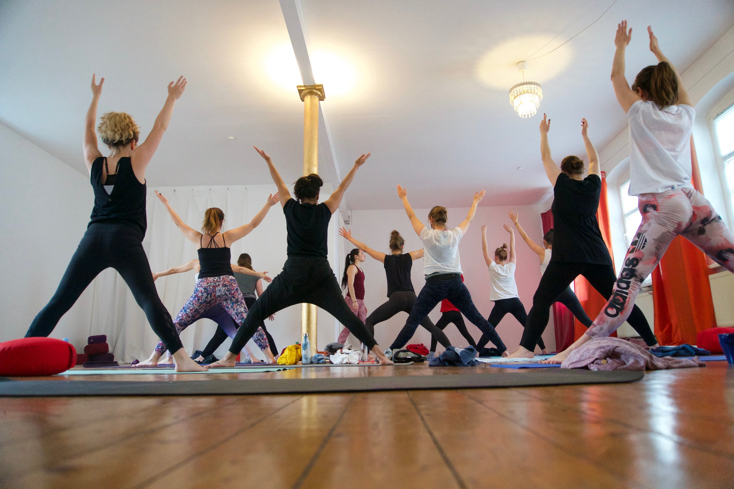 Heart Opening Yoga Flow with Maddie