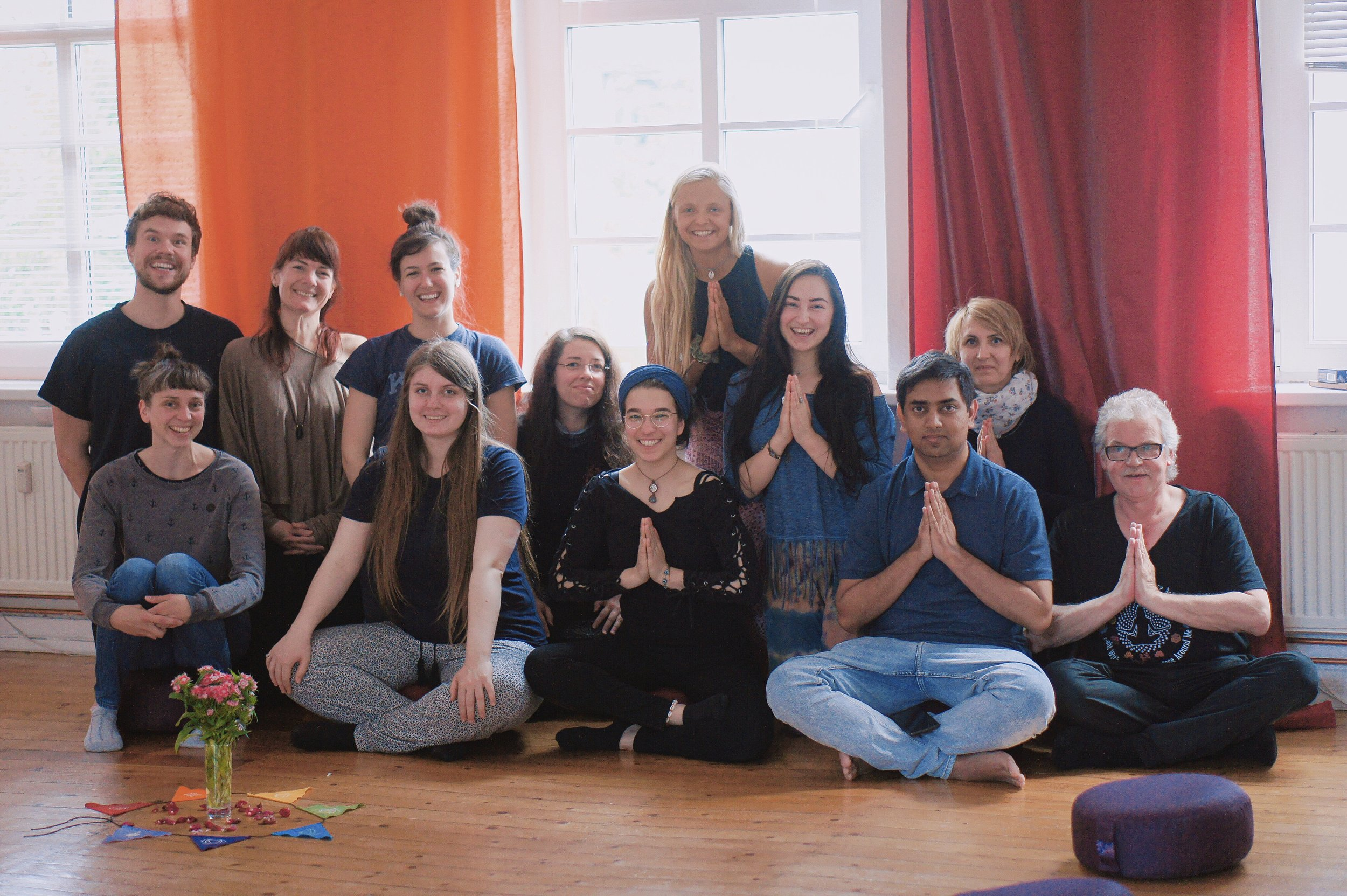 A photo from one of our Introduction to Reiki Workshops