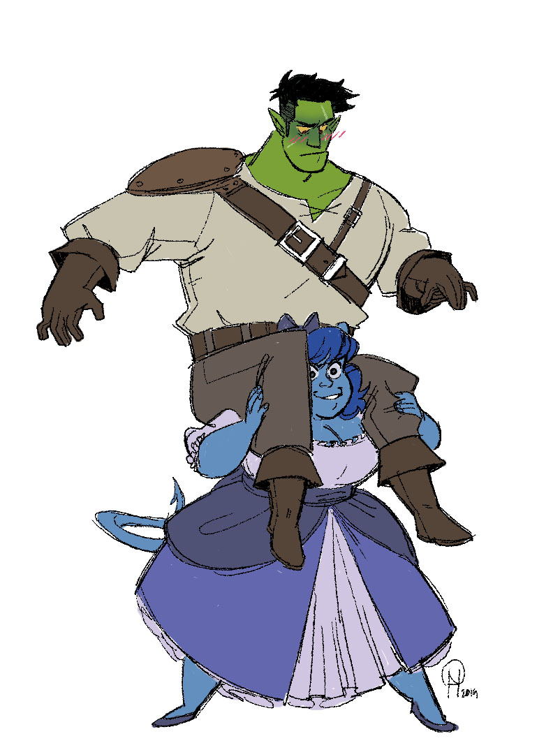Fjord and Jester (Critical Role: Campaign 2) - Featured on Critical Role