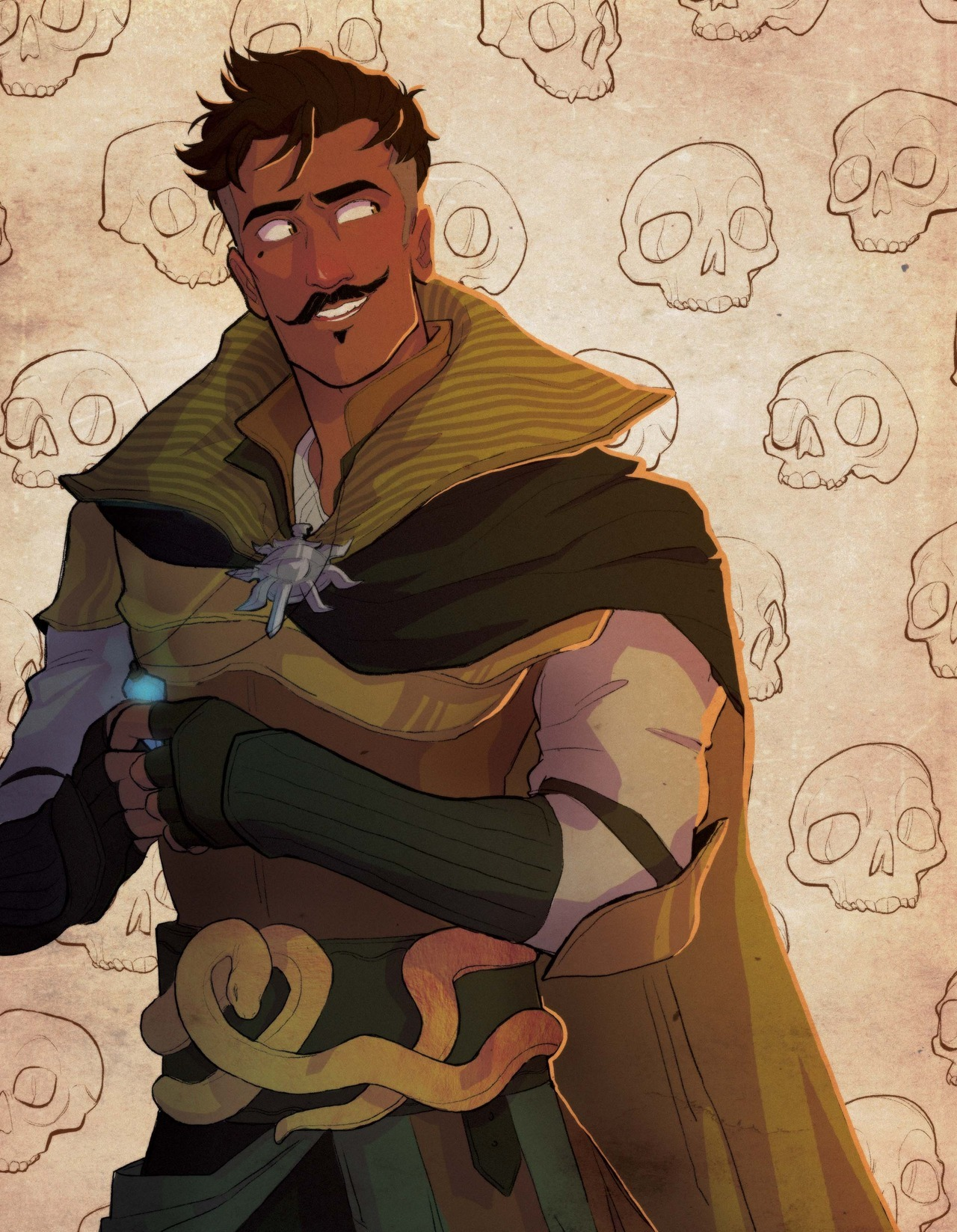 "Dorian Pavus (Dragon Age: Inquisition) - Featured in ""Fortitudo: A Dorian Artbook"""