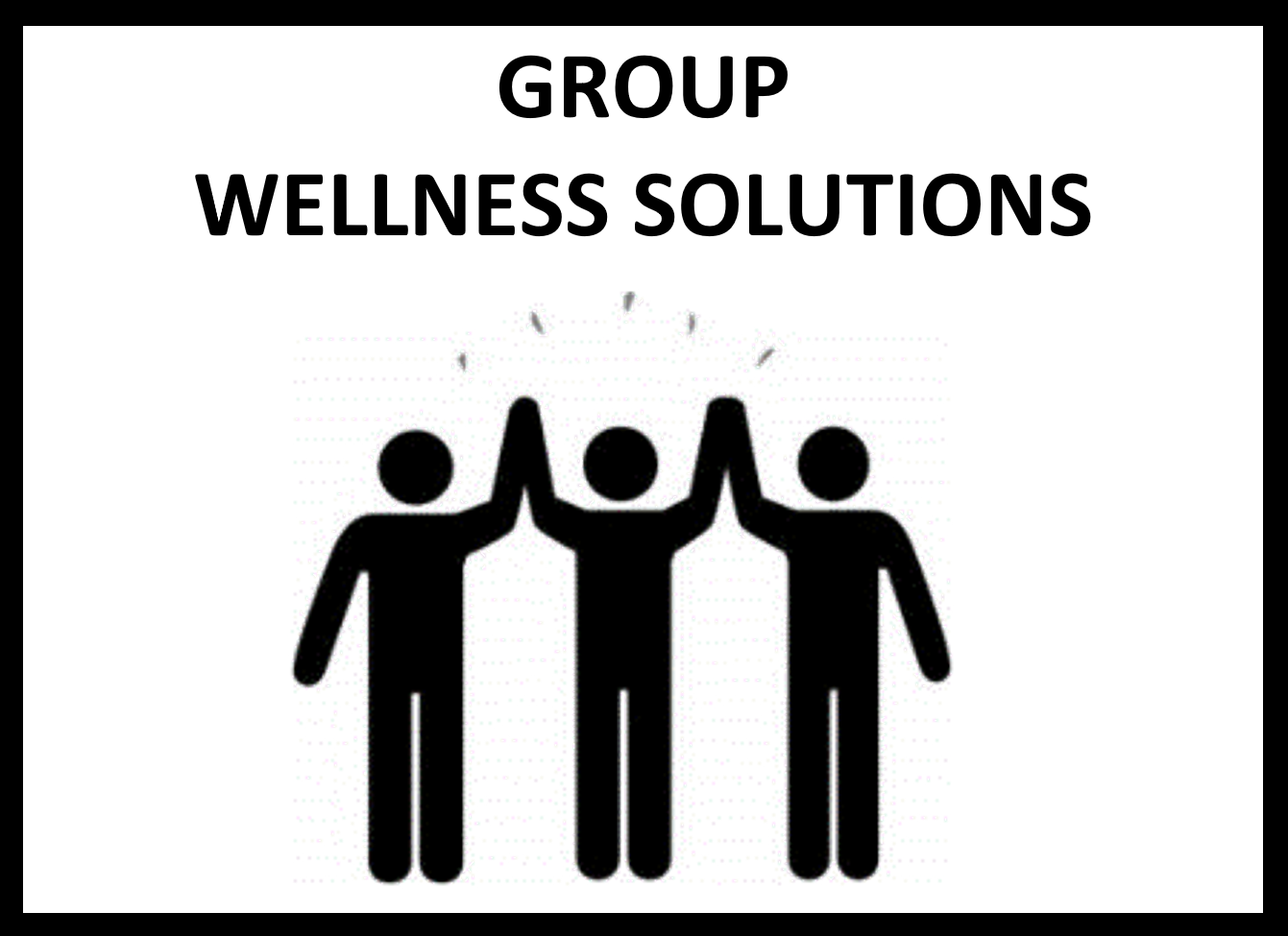 - Our customized Group Wellness Solutions provide supportive connections that create an inspiring culture of great health, support and wellbeing. From group exercise programs to weight loss challenges, this option is ideal for groups of people who share similar fitness and body composition goals. The synergy that we build together fuels each person's goal achievement and wellness success!START HERE →