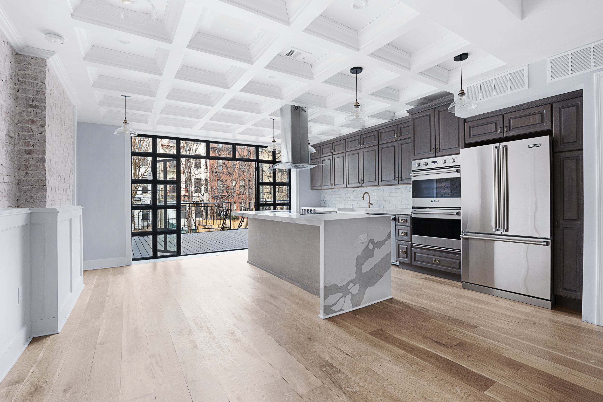 gut renovated and loft-like 3-family townhouse n the Prospect - Lefferts Gardens