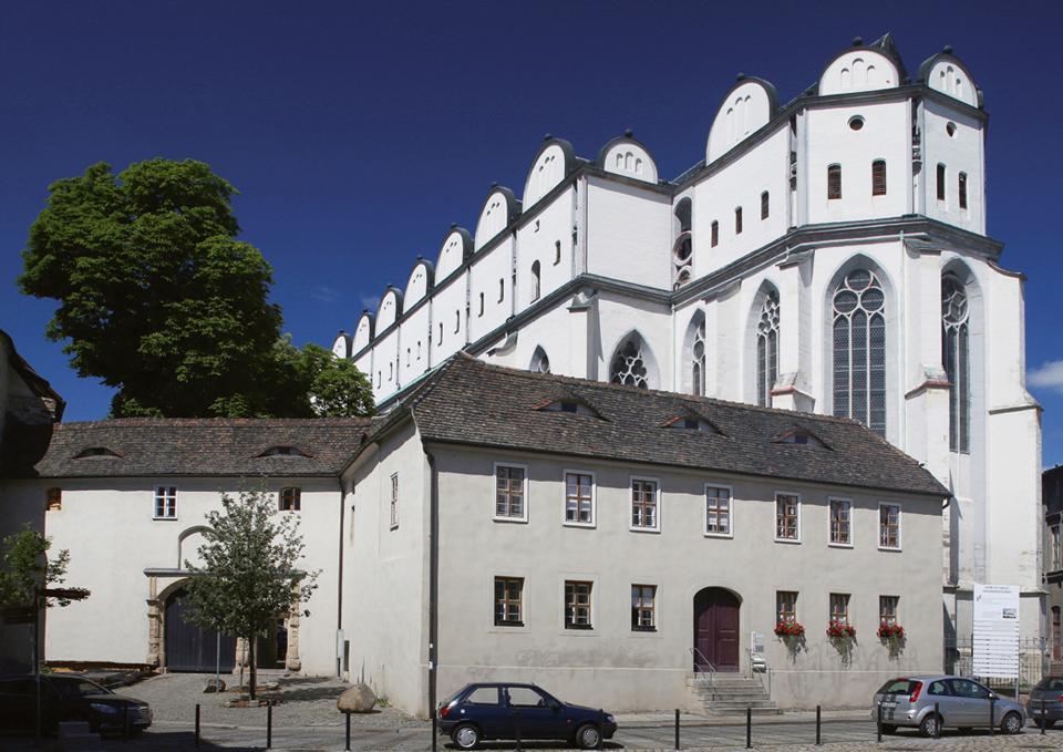 Blick auf den Dom zu Halle | Foto: Christoph Jann