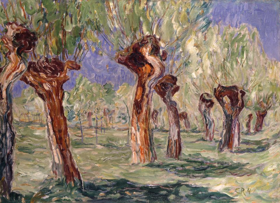 Christian Rohlfs: Weiden im Frühjahr, 1904, Öl auf Leinwand, 73,5 x 100 cm, Clemens Sels Museum Neuss, Foto: Walter Klein, Düsseldorf