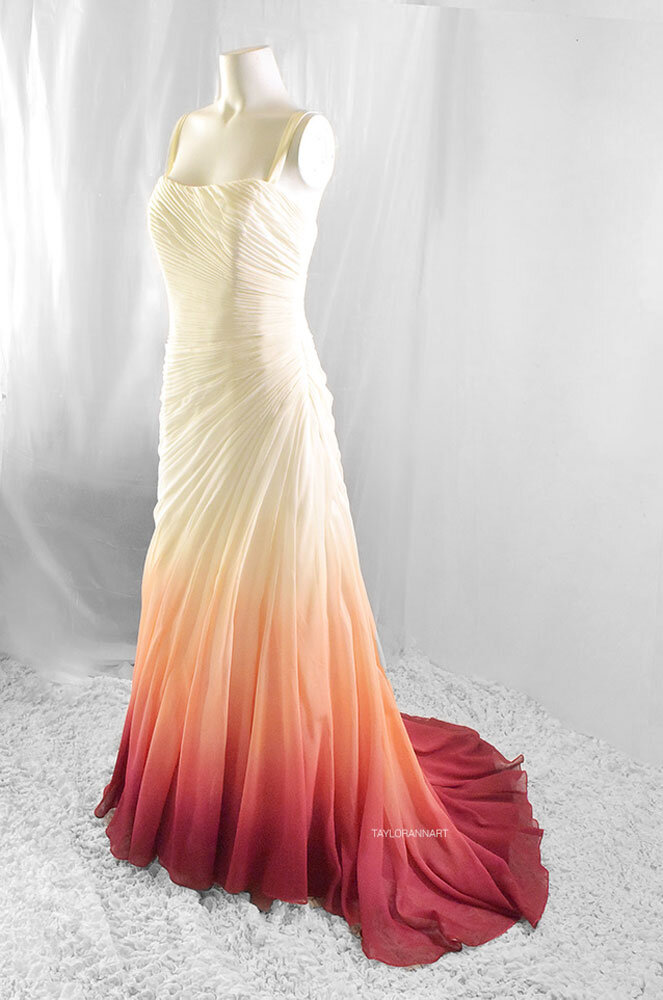Bridal Gowns Colored By Taylor Ann Art Gallery,Wedding Dress Patterns For Girls