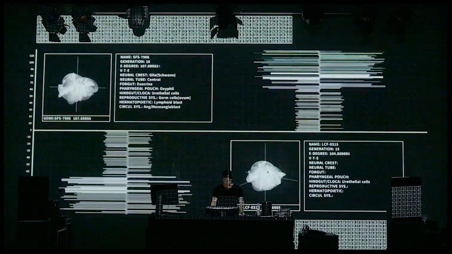 Data.Nature.Anagenesis_1 (2016)  audio-visual live performance