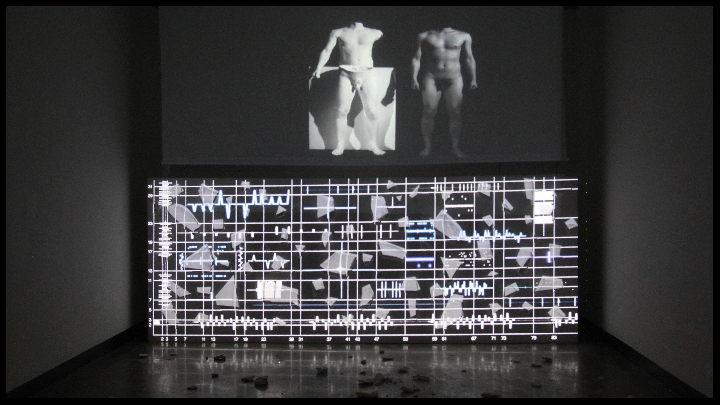 03;19;05 (2013)  mixed media installation