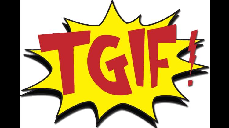 #TGIFlat - Thank God Its Flat