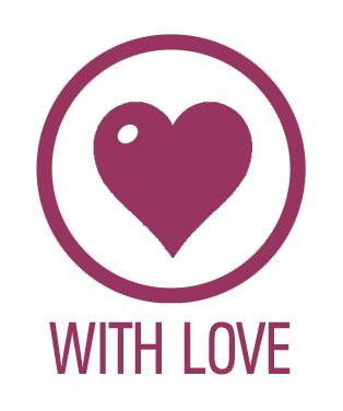 Das wunderschöne Herz finden Sie ebenfalls auf jeder Verpackung. Weil wir nur kreieren, was wir auch lieben.