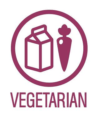 Der Vegetarierausweis. Weil sie Überzeugungstäter sind. Genau wir wir.