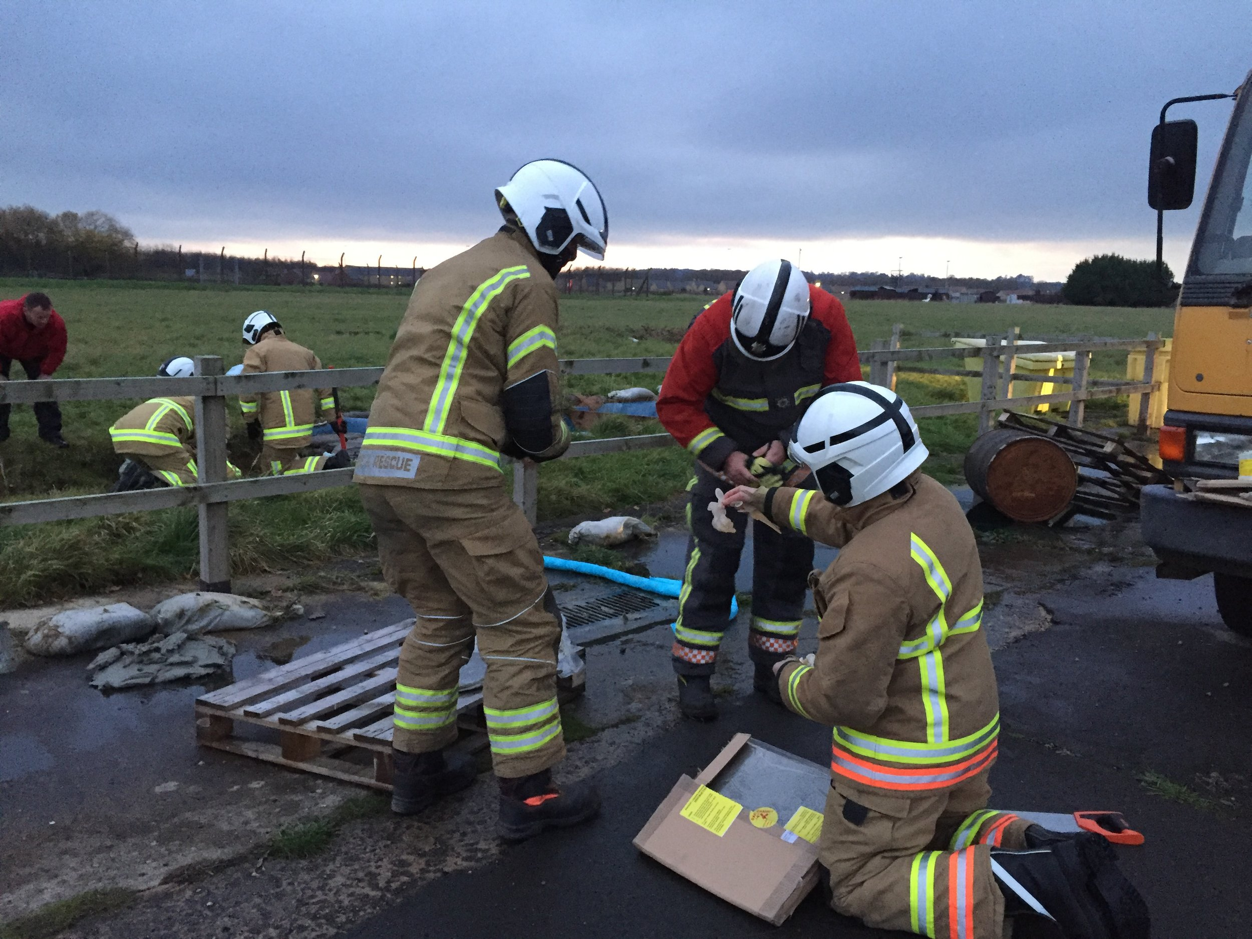 Fire Service College Spill Training