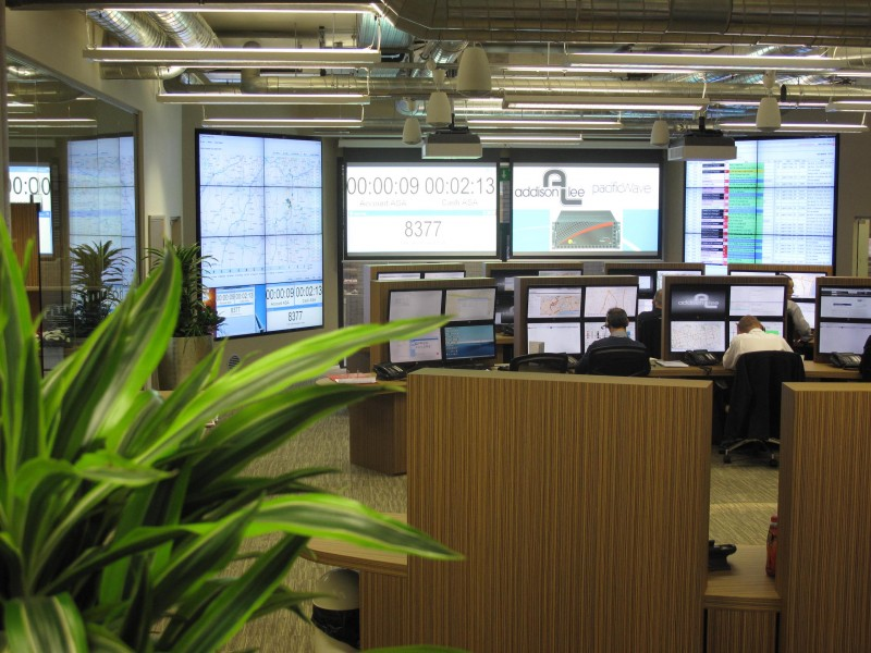 Stunning Video Displays  • 18 screens, drawing video feeds from a variety of sources, including the internal network, broadcast TV channels, the company's call tracking system and its PC-based vehicle tracking system  • Jupiter video wall processor, imported specially for the project from the US.