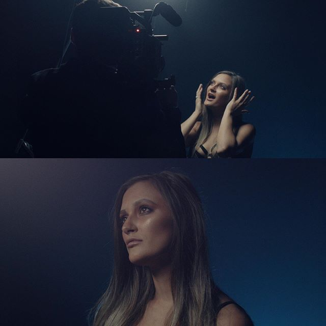 #Framegrabs from the BTS of Natasha Smith's music promo 'Omen'. Prod. by @rollingvision