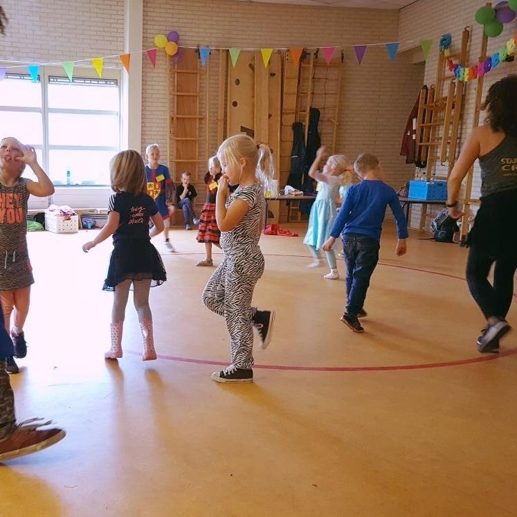 Dansworkshop Zomerkamp Fladderen Houten