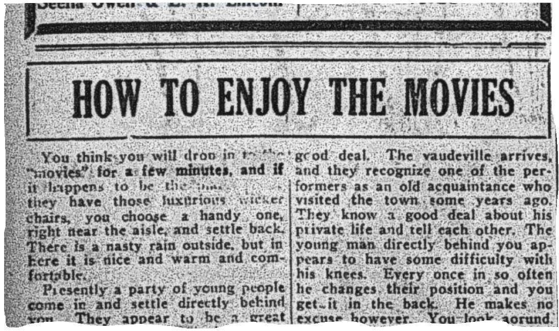 1921 Oct 12 p14 How to enjoy snip 2.JPG