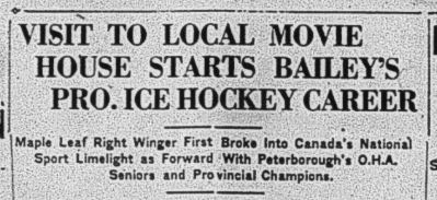 Peterborough Evening Examiner , Nov. 24, 1930, p.9.