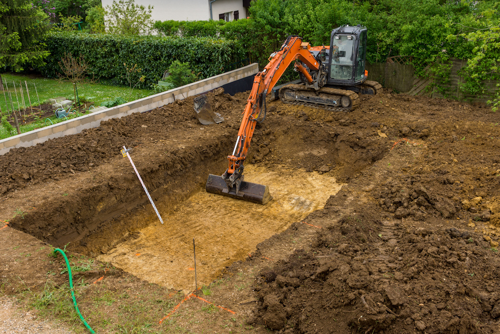 Prepare Your Landscape for a Swimming Pool with Rock Excavation in Croton-on-Hudson NY