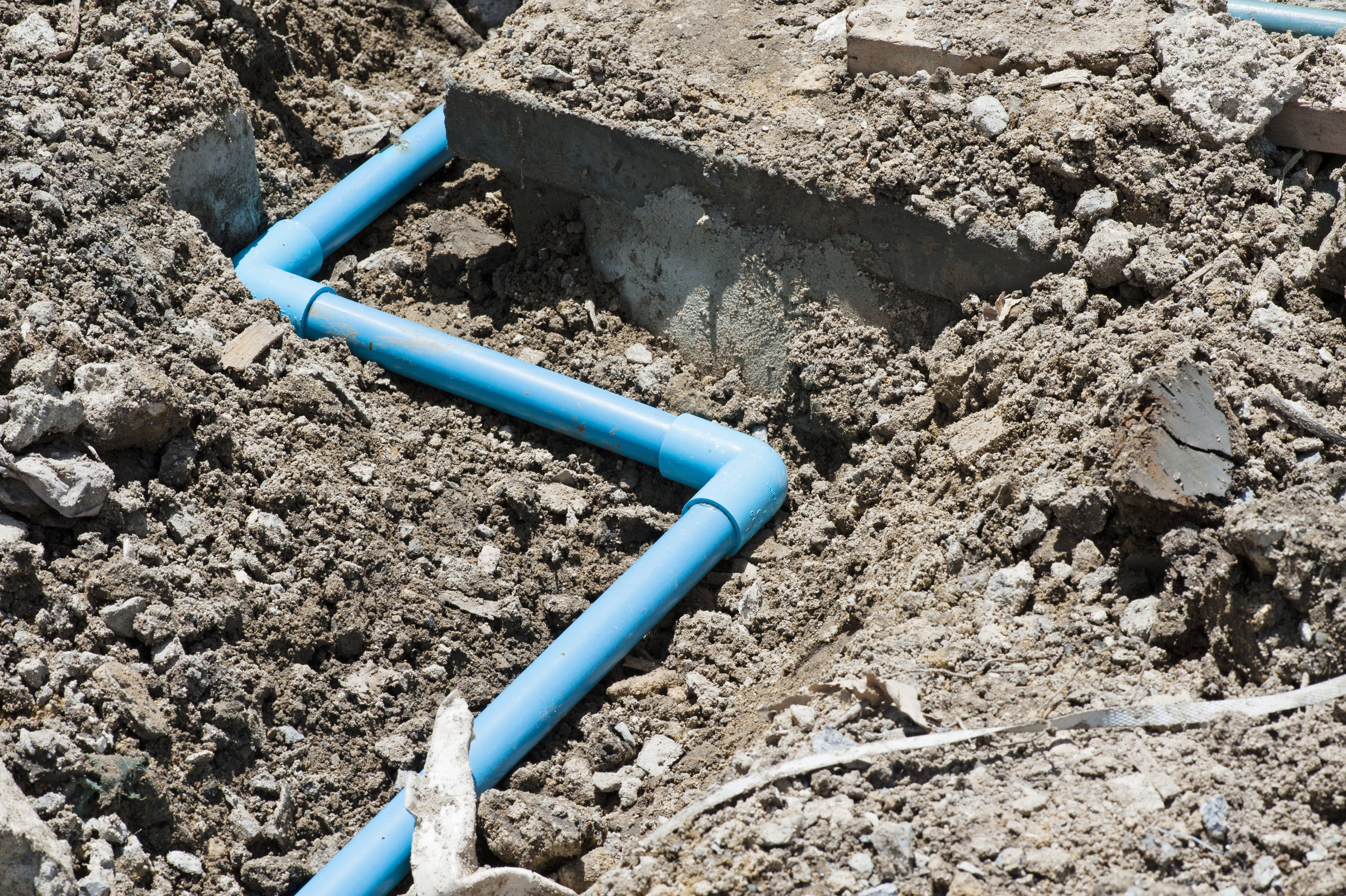 Replacing the Water Supply Line with the Help of Excavation Contractors in Tarrytown, NY