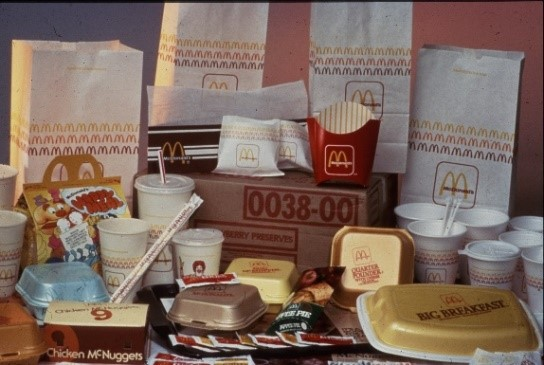 Figure 4: McDonald's UK product experience in the 1990s