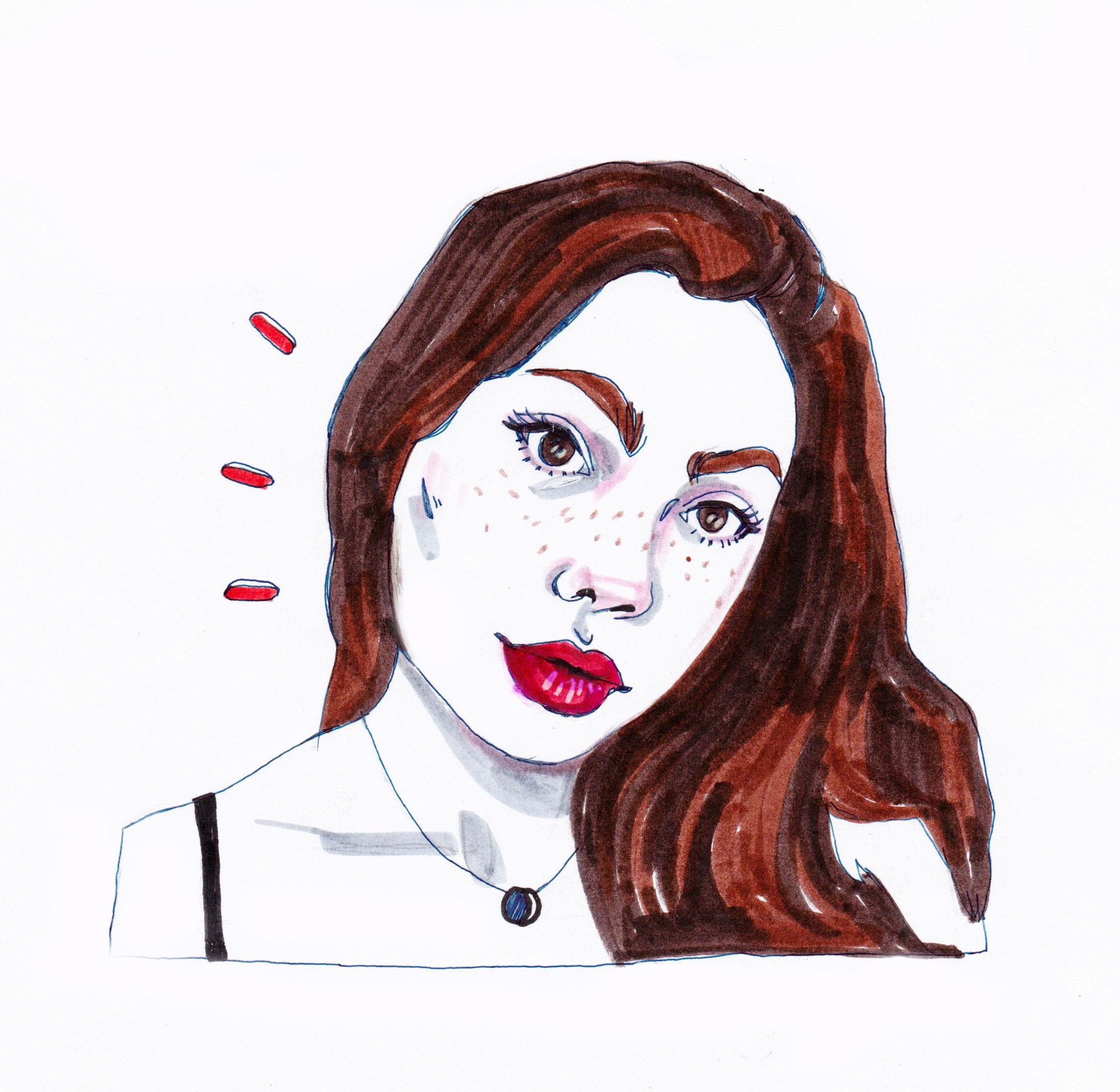 Alyssa Guzman   By  SPECIWOMEN  Illustration SENDRA UEBELE