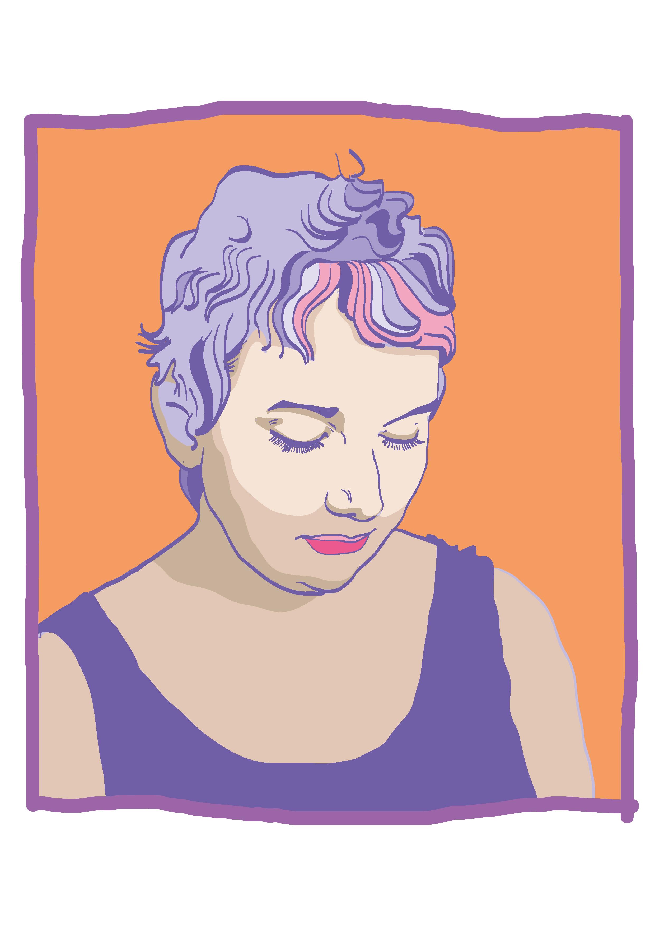Katerina Yewell   By  SPECIWOMEN  Illustration EBRU TATLISU
