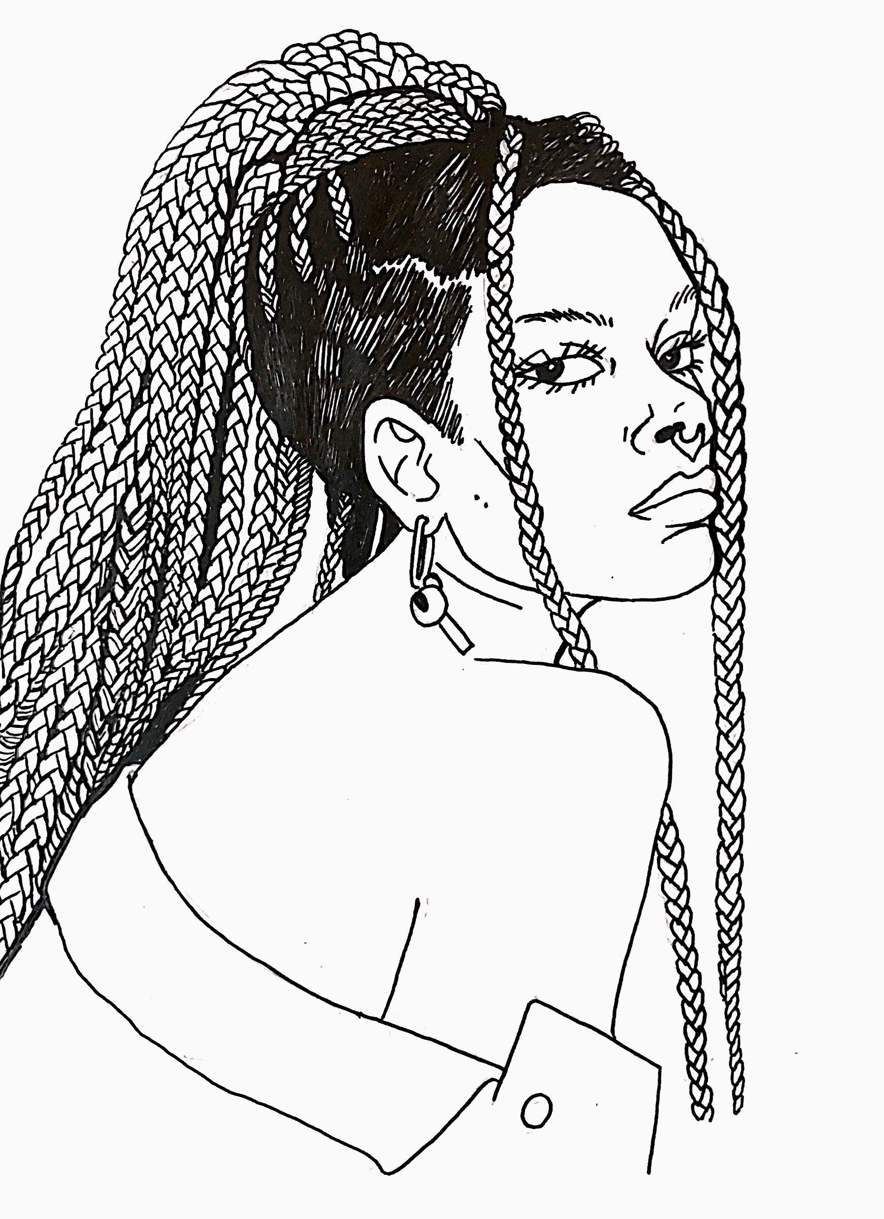 Panteha Abareshi   By  SPECIWOMEN  Illustration  GINA PIERSANTI