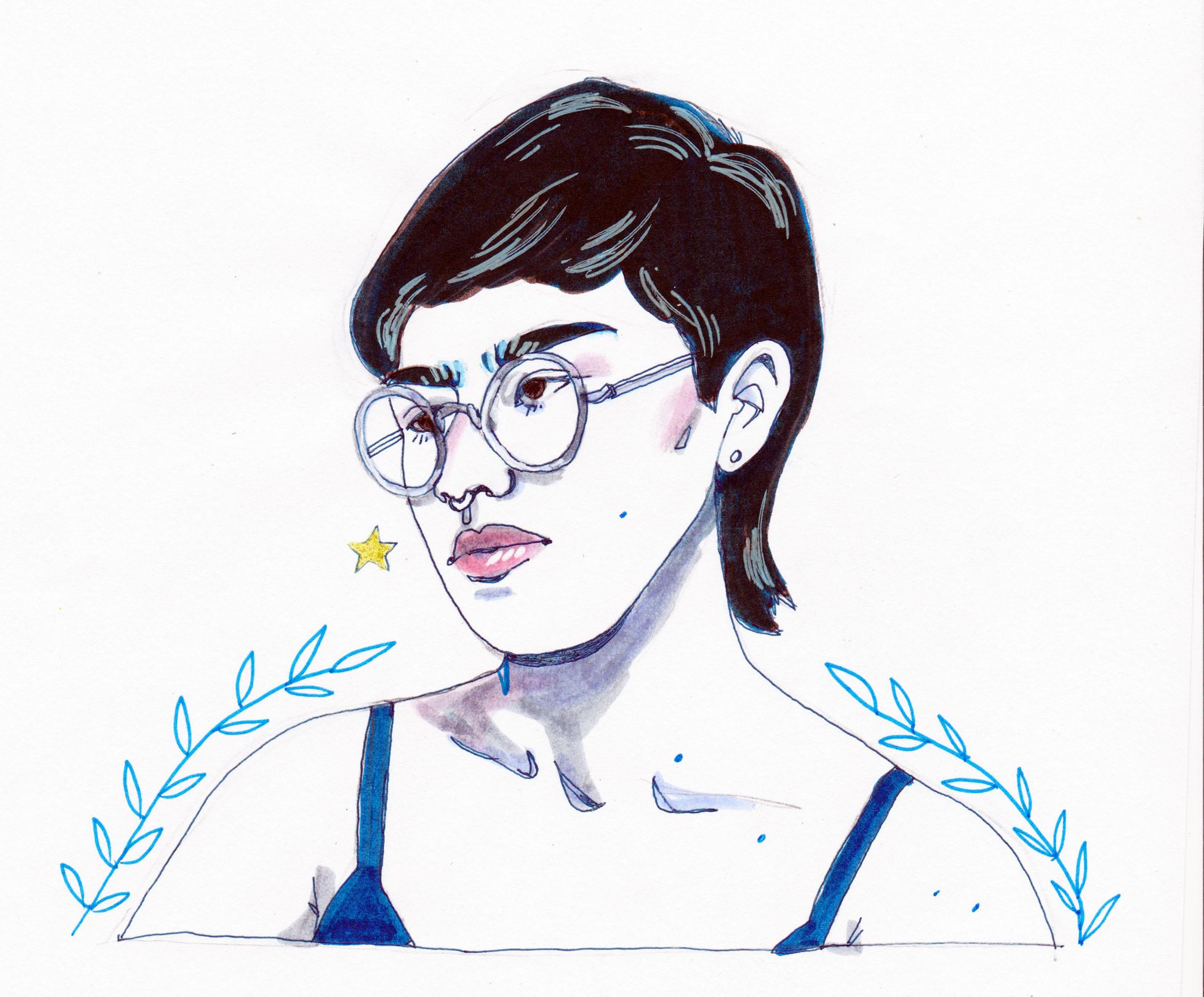 Kendra Yee   By SPECIWOMEN  Illustration  SNEDRA UEBELE