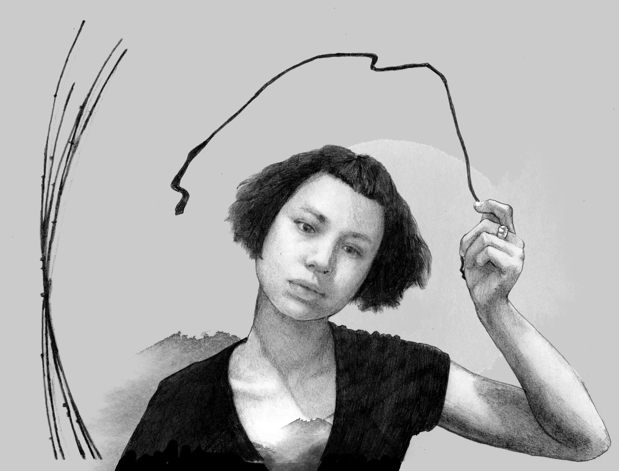 Penelope Anstruther   By  SPECIWOMEN  Illustration  VISNJA MIHATOV