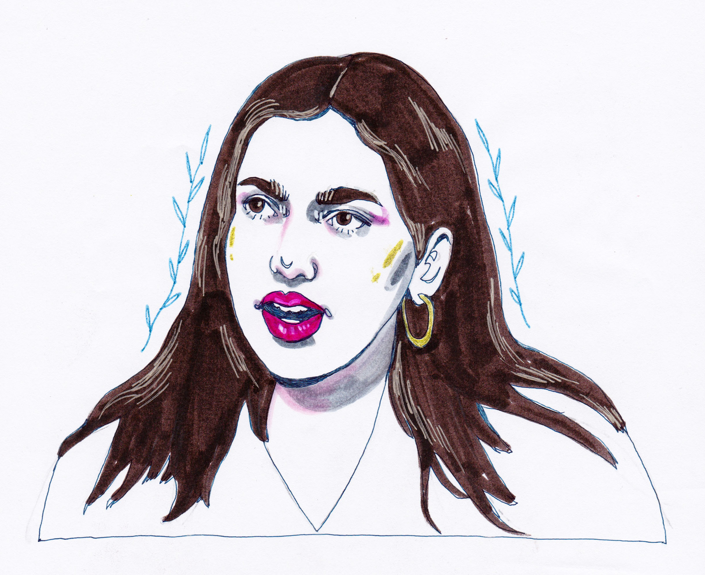 Samara Reweti   By SPECIWOMEN  Illustration  SENDRA UEBELE