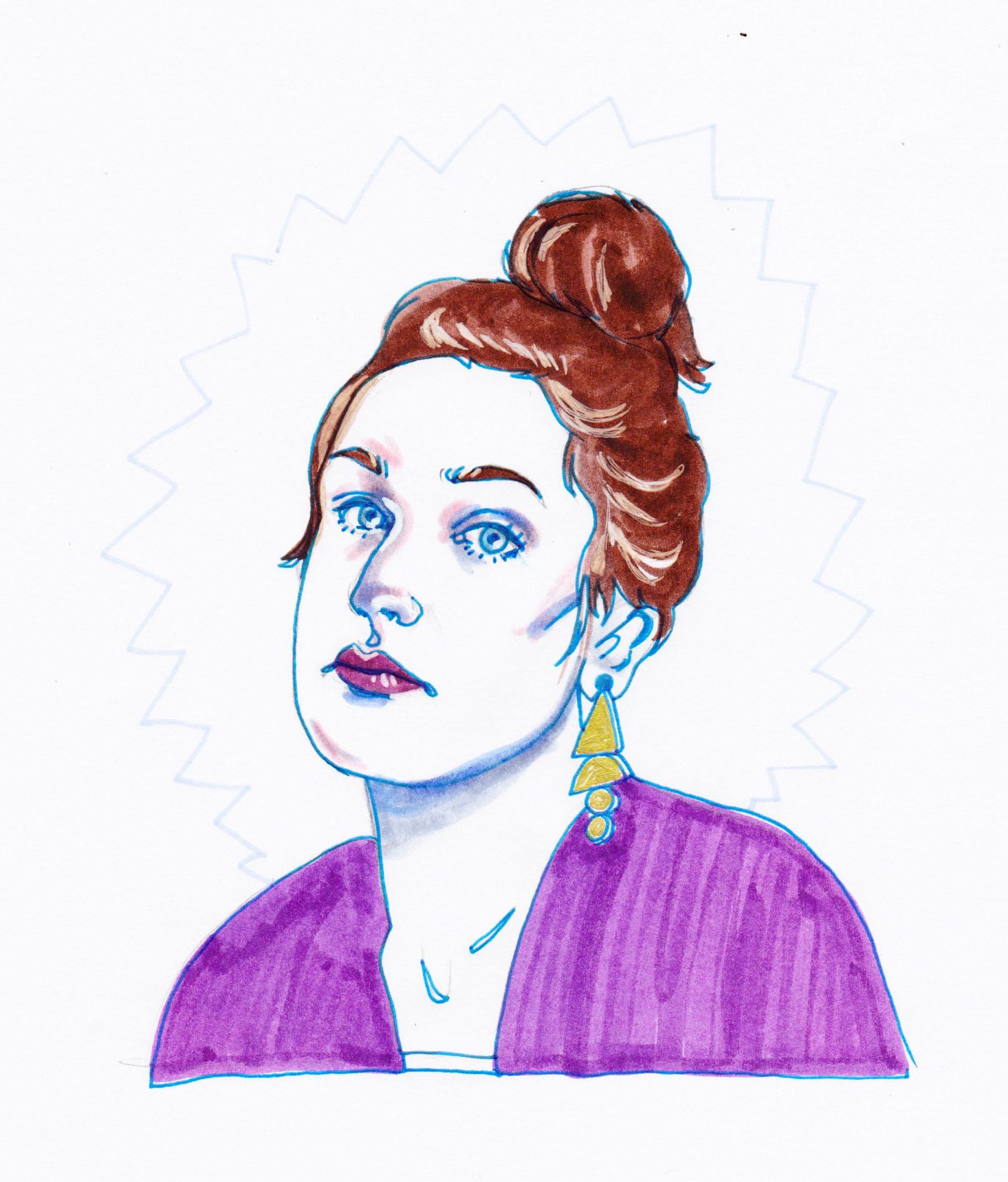 Laura Brahn   By SPECIWOMEN  Illustration  SENDRA UEBELE