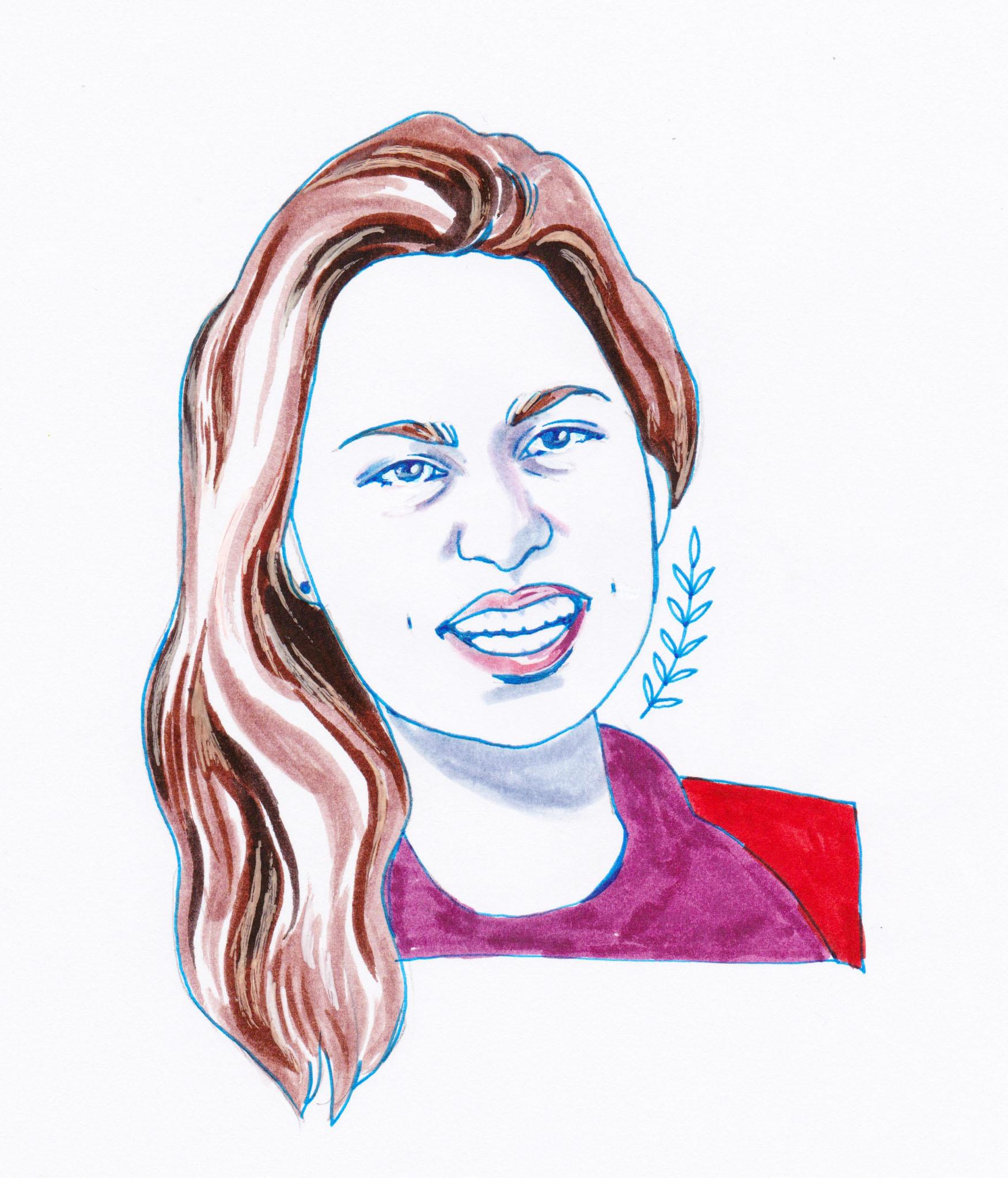 Maria Zizka   By SPECIWOMEN  Illustration  SENDRA UEBELE